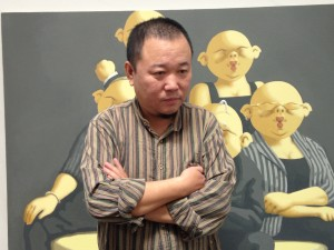 Chinese art colony's free-speech illusion shatters.